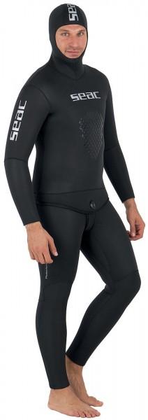 Seac Sub Protection 9 mm Apneo Freitaucher Speerfischer Anzug schwarz