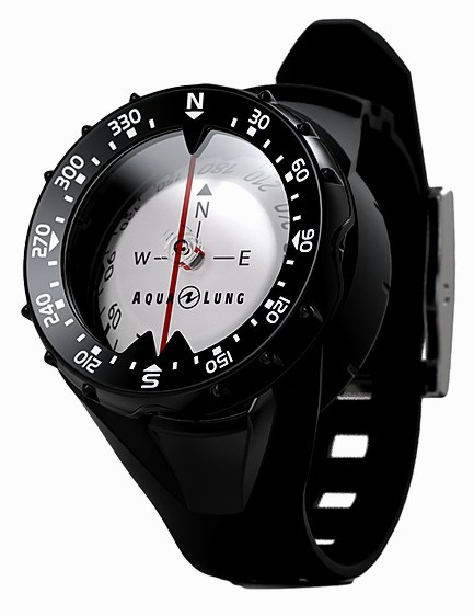 Aqualung Taucher Kompass mit Armband Tauchkompass