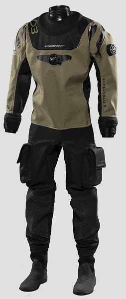 Waterproof 3D Ergo Trockentauchanzug Herren Trocken Taucher Anzug Männer tauchen Tauchanzug