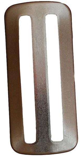 Polaris Dreisteg glatt Schnalle Drei Steg 6cm x 3cm tauchen Taucher Jacket Gurt