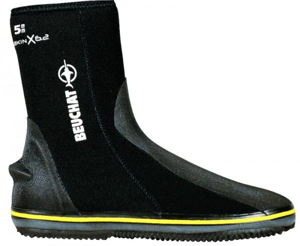 Beuchat Sirocco Sport Füssling 5mm Neopren Taucher Füßlinge mit Reißverschluss Taucher Schuh tauchen