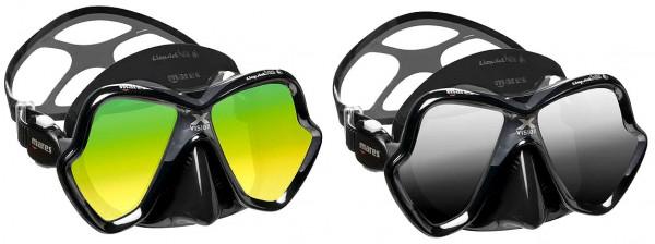 Mares X-Vision Ultra LiquidSkin getöntes Gläs Tauchermaske Taucher Maske Brille tauchen