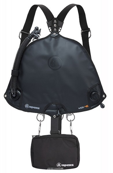 Apeks WSX-45 Sidemount Harness Set Komplett System Taucher tauchen Auftriebskörper Begurtung