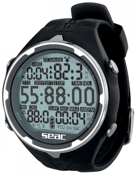 Seac Sub Action Armband Tauchcomputer Taucher Computer Uhr für Tauchen und Freitauchen.
