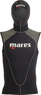 Mares Flexa Vest Neopren Unterzieher Unterziehweste 3mm mit Kopfhaube Taucher tauchen