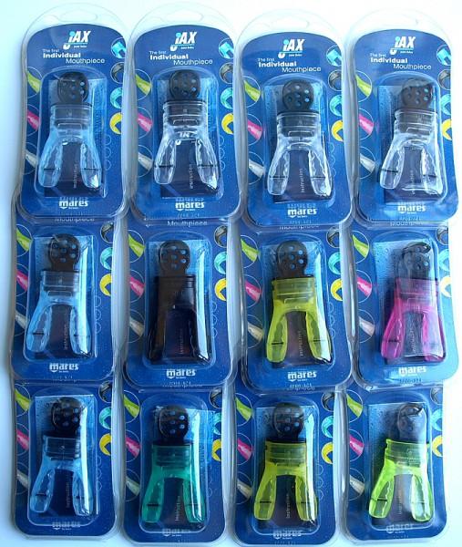 Mares Jax Mundstück verschiedene Farben für Atemregler Taucher Regler