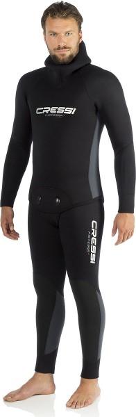 Cressi Fisterra 5mm Neopren Tauchanzug Long John Taucher Anzug zwei Teiler schwarz tauchen