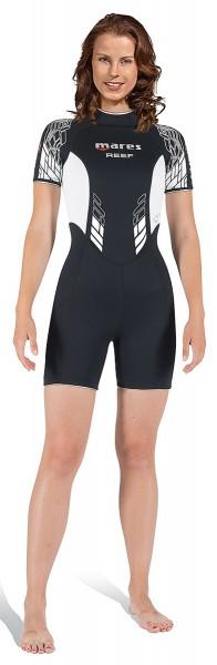 Mares Reef Shorty 2,5mm Damen neues Modell Taucher Anzug Tauchanzug kurz