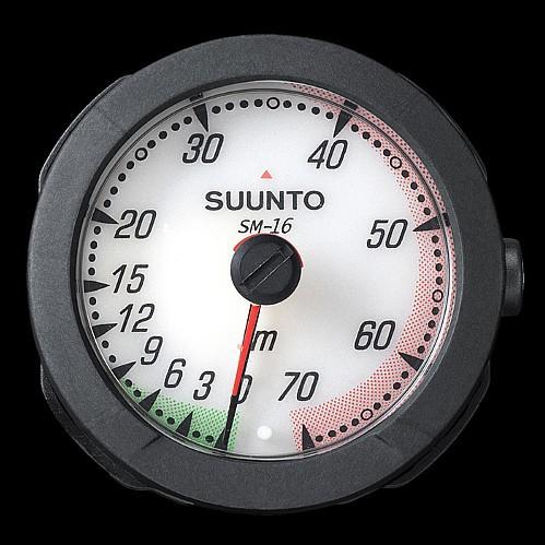 Suunto SM-16 Tiefenmesser für Anbau Konsole tauchen Tiefen Mess Gerät Taucher