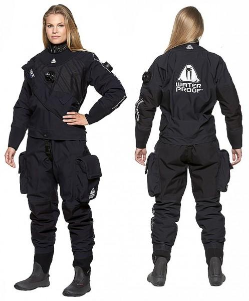 Waterproof D9X Breathable ultra light Trockentauchanzug Damen Frauen tauchen Trocken Tauchanzug