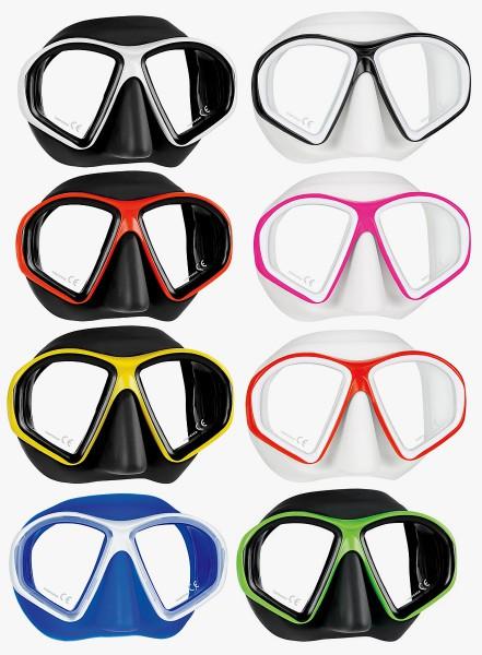 Mares Sealhouette Tauchmaske Apnoe Freitaucher Taucher Maske Brille