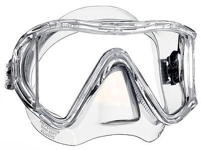Mares i3 Sunrise Tauchermaske Dreiglas Maske clear transparent Taucher Brille tauchen Tauchmaske