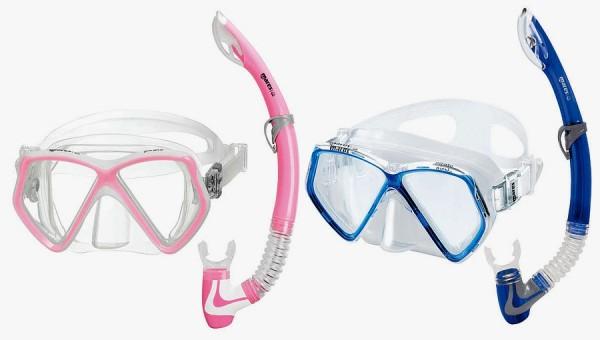 Mares Pirate Kinder Tauchmaske + Schnorchel Set Taucher Maske Brille