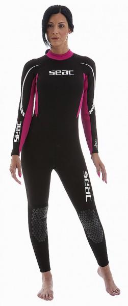 Seac Sub Relax Long 2,2mm Neopren Damen Tauchanzug Taucher Anzug