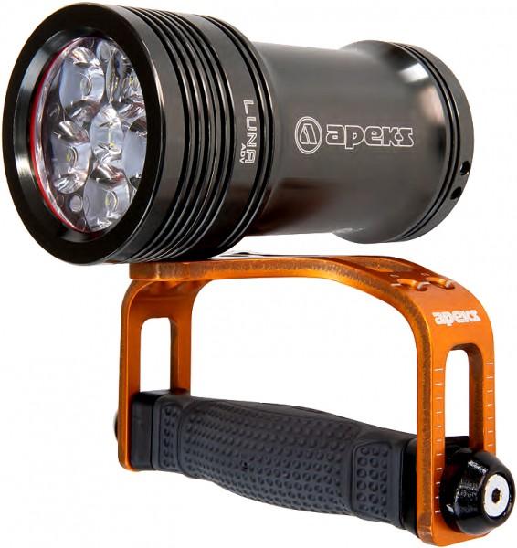 Apeks Luna ADV Tauchlampe Taucher Lampe 3600 Lumen Lichtstärke tauchen Einstellbare lange Brenndauer