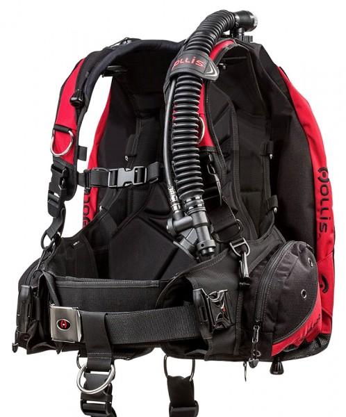 Hollis HD 200 Backmount Wing Tech Tarier Taucher Jacket Tarierjacket Weste tauchen Cordura Robust