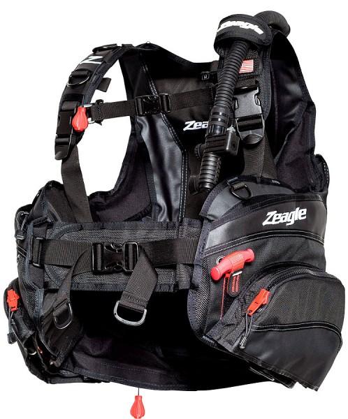 Zeagle HALO Tarierjacket Taucher Jacket tauchen Bleisystem Blei Taschen