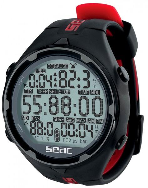 Seac Sub Action HR Armband Tauchcomputer Taucher Computer Uhr für Tauchen und Freitauchen