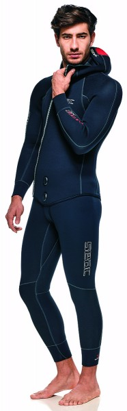 Seac Sub Tauchanzug Privilege XT 7mm Herren Long John Taucher Anzug