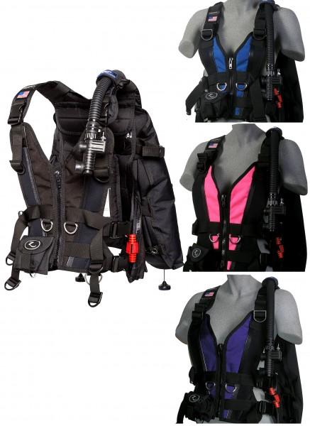 Zeagle Zena Tauchjacket Damen Frauen Taucher Tarier Jacket tauchen Weste Integrierte Bleitaschen
