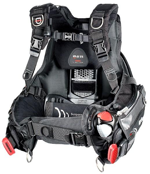 Mares Hybrid AT MRS plus Tauchjacket Tarierjacket Airtrim Taucher Jacket