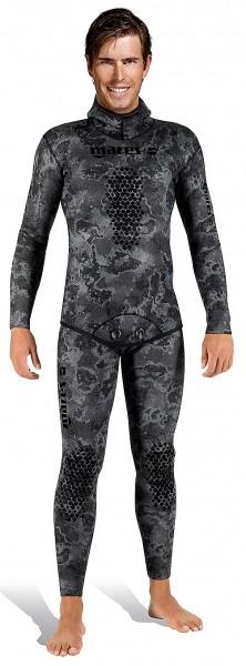 Mares Explorer Black open cell 30 Jacket + Hose 3mm Camo Apnoe Freitaucher Speerfishing tauchen