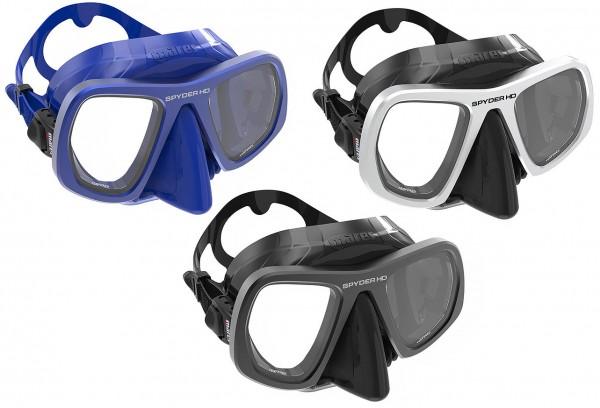 Mares Spyder HD Profi Apnoe Freitaucher Maske Silikon Brille Taucher tauchen Speer fischen Tauchmask