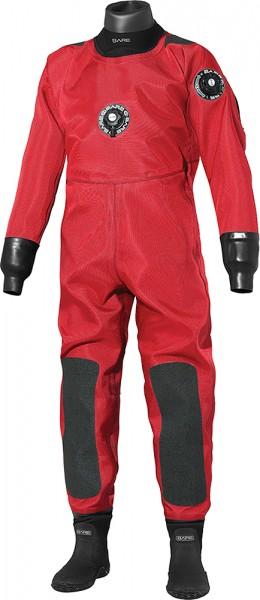 Bare Trilam Comercial HD Pro Drysuit Trockentauchanzug Trocken Taucher Anzug Farbe rot Tauchanzug
