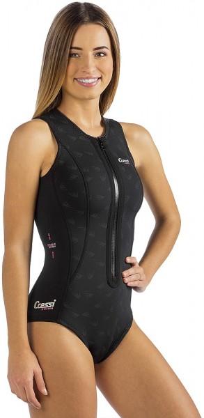 Cressi Termico Damen Badeanzug Schwimmanzug 2mm Neopren 100% High Strech schwimmen