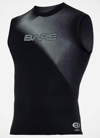 Bare Sport Neopren 3mm Unterzieher Neopren T-Shirt Taucher Unterzieher