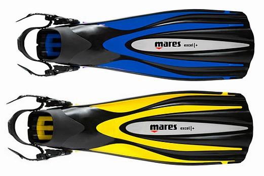 Mares Exel plus + Tauchflossen Taucherflossen Geräteflossen Taucher Flossen tauchen Ausverkauf