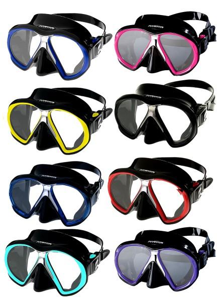 Atomic Aquatics Subframe Tauchmaske Taucher Maske Brille tauchen weiches Silikon gute Passform
