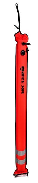 Mares SMB XR Regular Tauchboje Tauicher Makier Boje Oberflächen Boje rot Sicherheitsboje