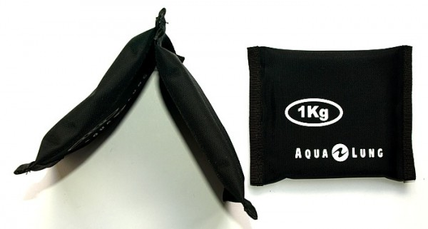 Aqualung 1,0kg Tauchblei Formblei Knickblei Taucher Blei tauchen Tafel Blei Gewicht