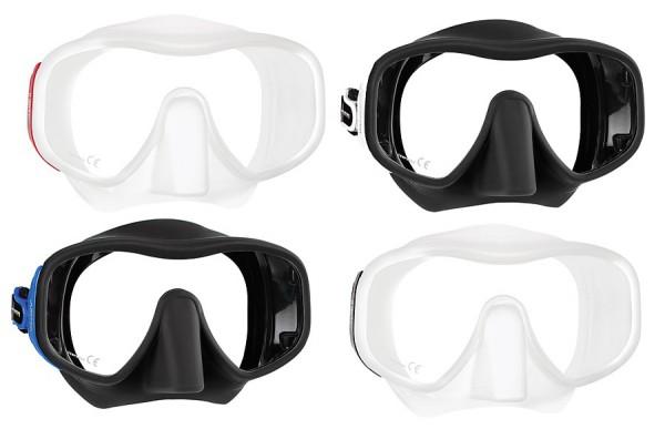Mares Jupiter grosse Tauchmaske Taucher Einglas Maske Brille tauchen diving Mask