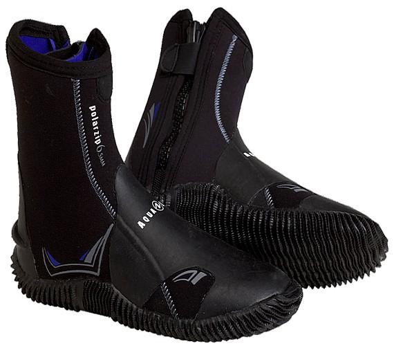 Aqualung Polarzip 6,5mm Tauchfüssling warm Neopren Taucher Füssling Schuh tauchen