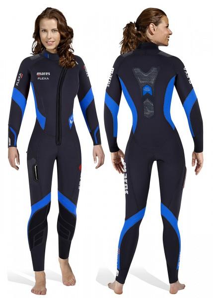 Mares Flexa 8.6.5 Tauchanzug Neopren Damen super elastisch Taucher Anzug tauchen