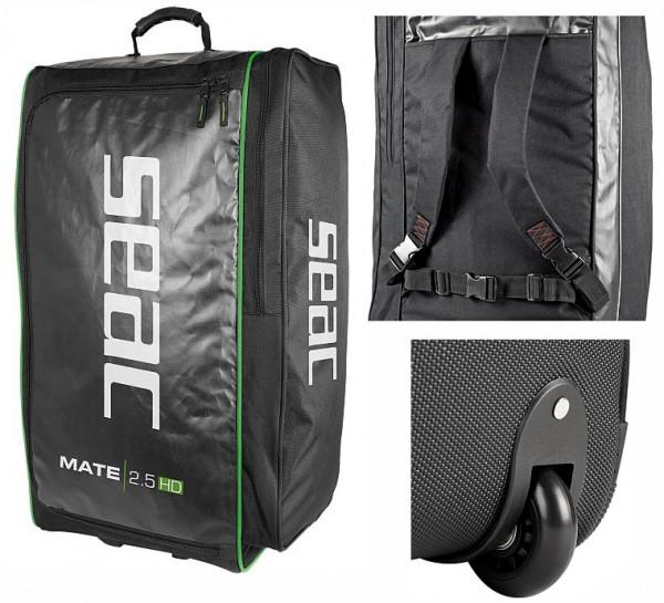 Seac Sub Mate 2,5 HD Taucherrucksack Trolley Taucher Tasche