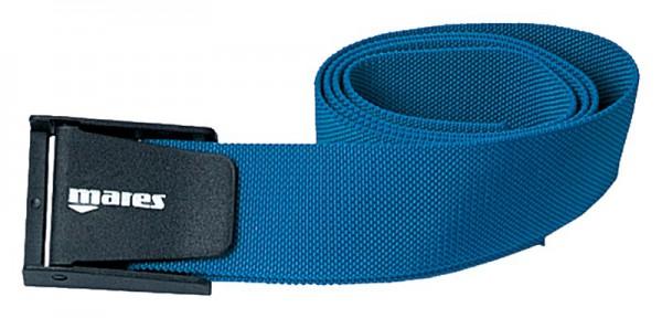 Mares Bleigurt mit PVC Kunststoff Schnalle blau Taucher