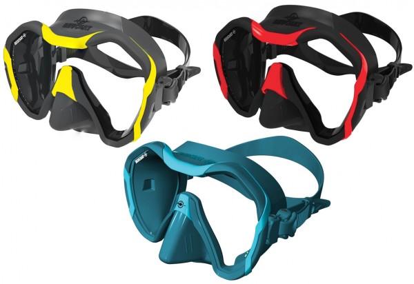 Beuchat Maxlux Evo Tauchmaske Taucher Maske riesen großes Sichtfeld Brille weiches Silikon tauchen