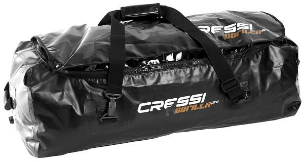Cressi Gorilla Pro XL grosse Taucher Tasche robust 135 Liter Apnoe Freitaucher Flossen Flossentasche