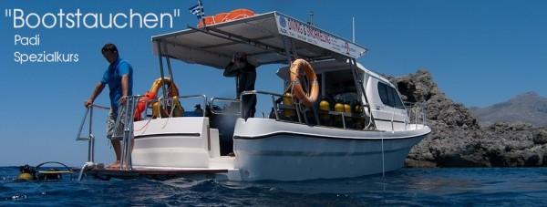 Boot tauchen Bootstauchen Padi Spezial Tauchkurs Taucher Kurs