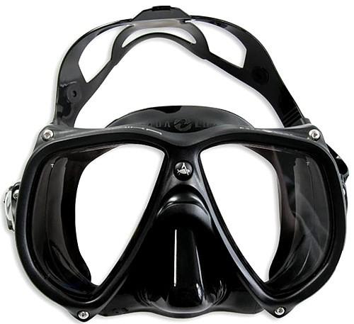 Aqualung Teknika Tauchmaske Tauchermaske Zweiglasmaske TEK Taucher Maske Brille tauchen