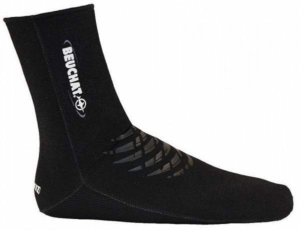 Beuchat Neoprensocken Elaskin 2mm Neopren Taucher Neopren Socken Tauchsocken tauchen schwarz