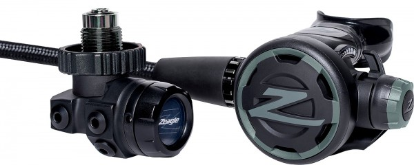 Zeagle F8 Regulator Atemregler DIN Anschluss Kaltwasser Taucher Regler