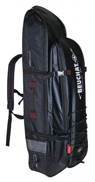 Beuchat Mundial Backpack 2 Apnoe Flossen Freitaucher Tasche Rucksack Kühlfach Langflossen