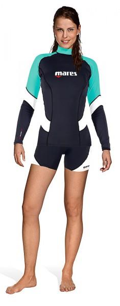 Mares Rush Guard long sleeve she dives T-Shirt UV Sonnen Schutz Damen Frauen