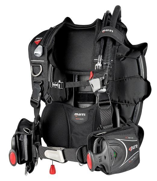 Mares Pure SLS Tarierjacket Wing Taucher leichtes Reise Jacket tauchen
