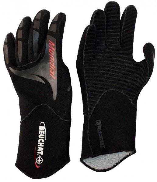 Beuchat Mundial 2mm 2 mm Apnoe Freitaucher Tauchhandschuhe Neopren Taucher Handschuh tauchen