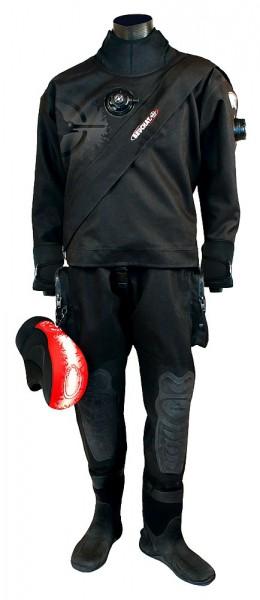 Beuchat Abyss dry Trockentauchanzug Trilaminat Fronteinstieg Trocken Tauchanzug Taucher Anzug